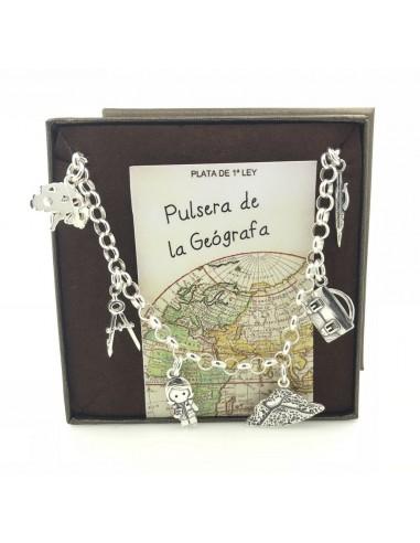 Bracelet En Argent Géographe