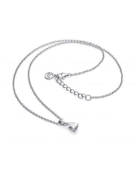 Collar Viceroy Plata Y Circonitas 6 Por 8 Mm Señora Jewels 21006c000-30