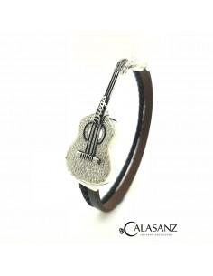 Pulsera Guitarra Flamenca Texturada