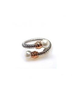 Sortija tonisa perla color