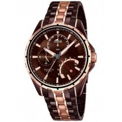 Reloj Hombre Lotus Smart Casual Marrón 18206/1
