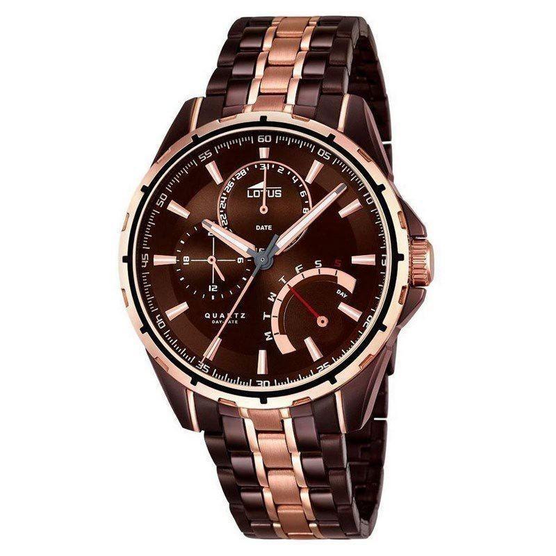 Reloj Hombre Lotus Smart Casual 18206/1 Marrón