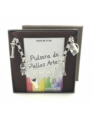 Pulsera Bellas Artes De Plata