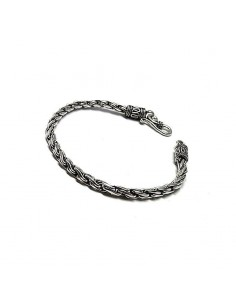 Bracelet en Argent sterling Oxydé.