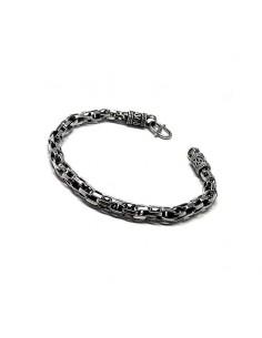 Bracelet En Argent, Oxydée.