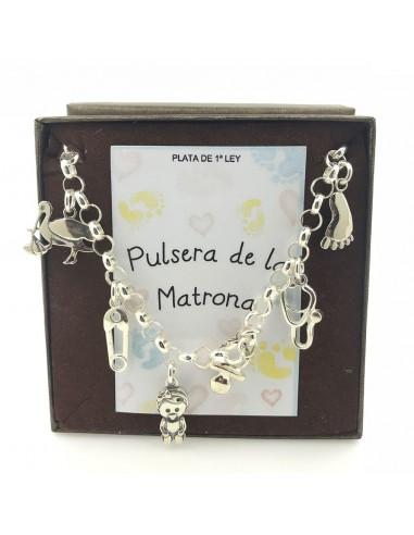 Pulsera Plata De La Matrona