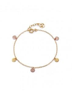 Pulsera Viceroy Plata De Ley Medallas Love You Señora Jewels 4066p100-06