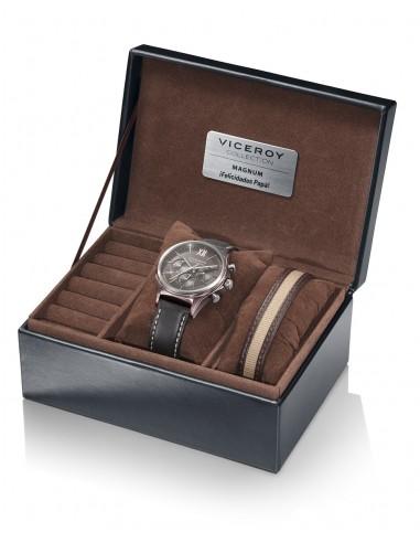 Pack Viceroy Reloj Crono Acero Ip...