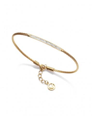 Pulsera Viceroy Cable De Acero Y Circonitas Señora Fashion 75080p01012