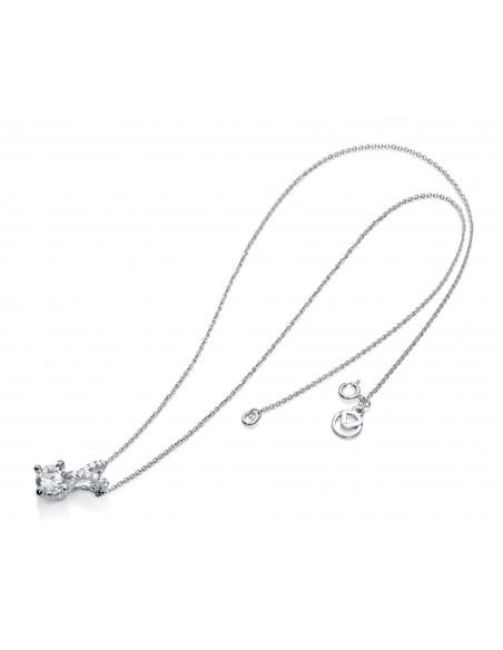 Collar Plata Y Circonitas Señora Jewels 7052c000-30