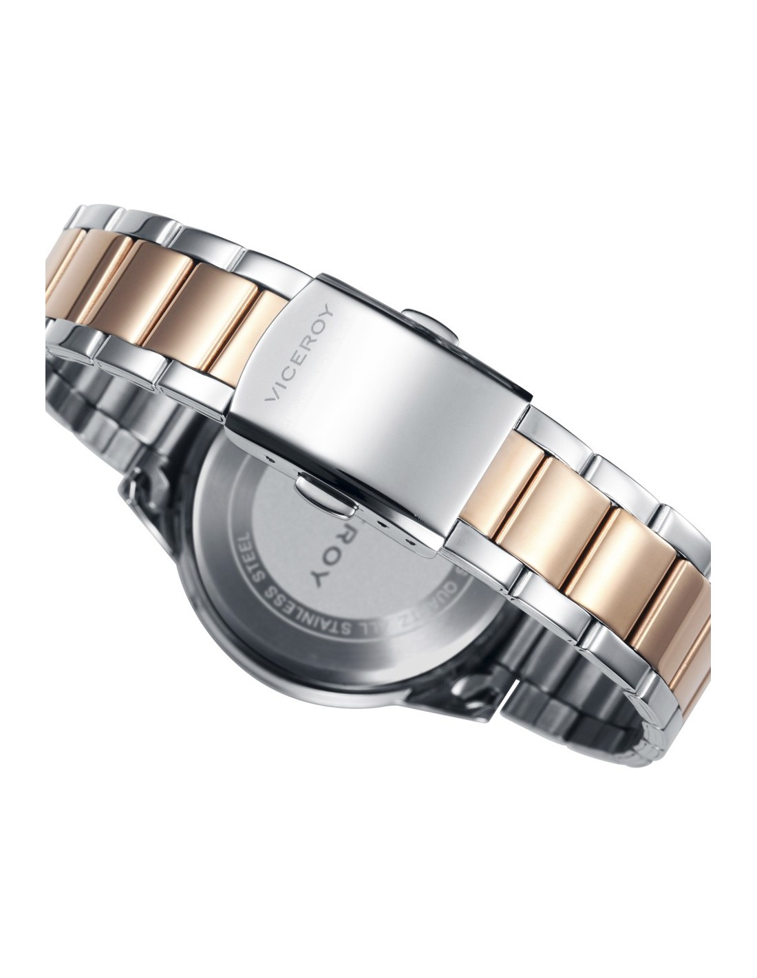 ebaa8794e054 ... Reloj Viceroy Multifunción Acero Ip Rosa Brazalete Señora 401088-95 ...