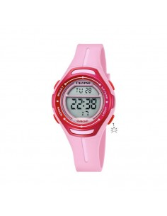 32deba3277a6 Reloj Calypso Digital Señora O Niña Correa Y Esfera Rosa K5727 2