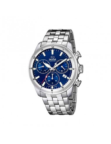 Reloj Jaguar Crono Acero Esfera Azul Caballero J687/A