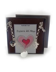 Pulsera Del Amor Plata De Ley