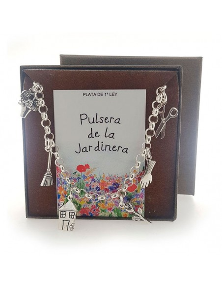 Pulsera De La Jardinera Plata