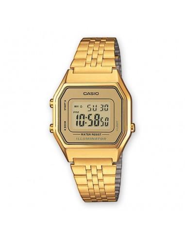 Reloj Casio Digital Dorado Señora LA680WEGA-9ER