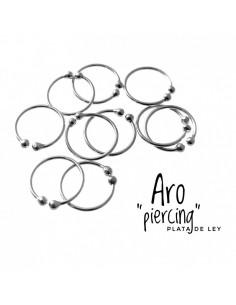 1 Piercing Plata Aro