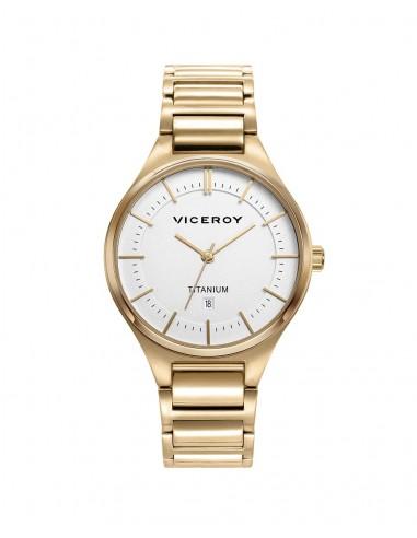 Reloj Viceroy Titanio Ip Gold...