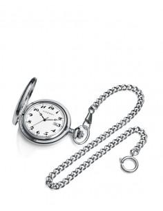 Reloj Viceroy De Bolsillo Plateado Quarzo Caballero Para Grabacion 44115-04