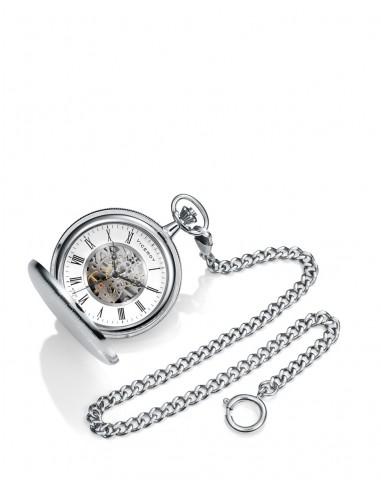 Reloj Viceroy De Bolsillo Cuerda Plateado Para Grabación 44119-02