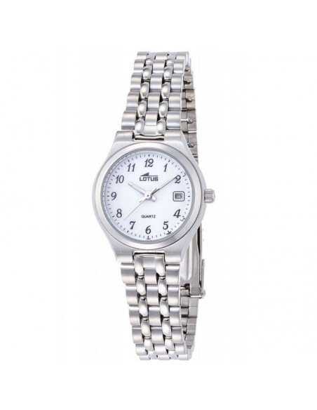 Reloj Lotus Acero Esfera Blanca Señora 15032/1
