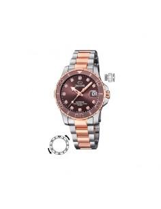 Reloj Jaguar Señora Acero Esfera Marrón J871/2