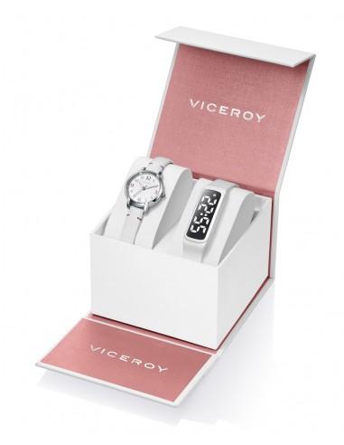 Pack Viceroy Reloj Acero Correa Niña...
