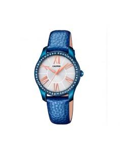 Reloj Calypso Correa Azul Esfera Blanca Señora K5719/2