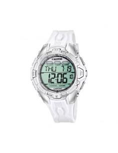 Reloj Calypso Digital Correa Esfera Blanca Caballero K5615/1