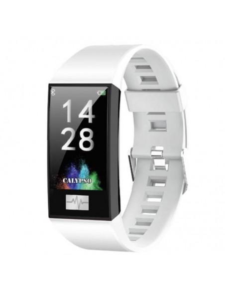 Reloj Calypso Smartime Correa Blanco Turquesa K8500/1