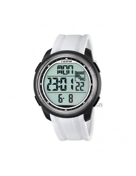 Reloj Calypso Digital Correa Blanca K5704/5