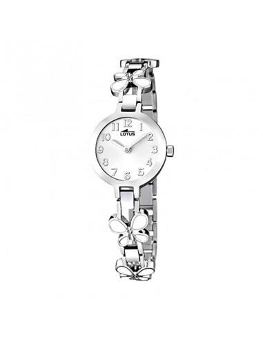 Reloj Lotus Niña Acero Esfera Blanca 15829/1