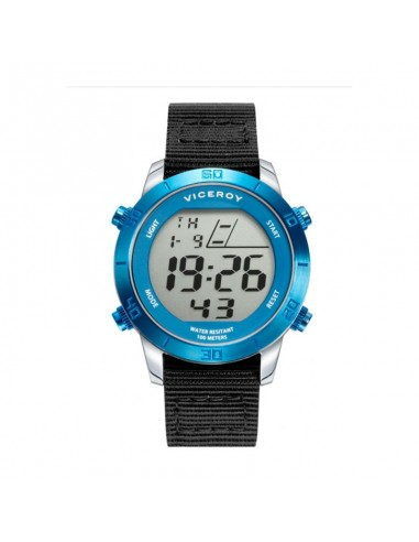 Reloj Viceroy Digital Acero Ip Azul...