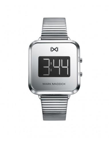 Reloj Mark Maddox Digital Acero Brazalete Señora Mm0119-00