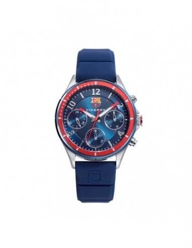 Reloj Viceroy Acero Ip Azul Correa...