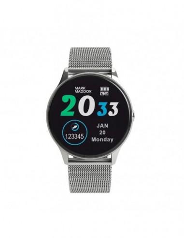 Pack Mark Maddox Smartwatch Metal Ss...