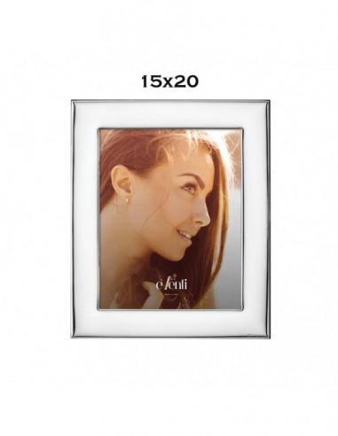 Portafoto 15x20 Plateado