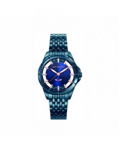 Pack Reloj Viceroy Acero Ip Azul Y...