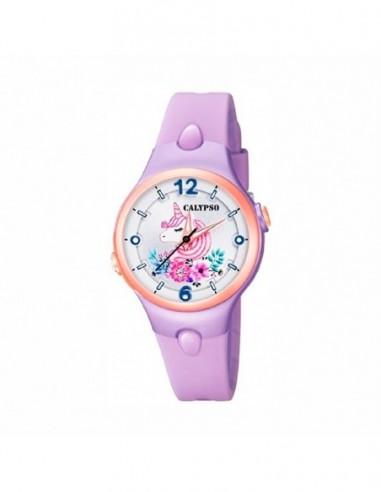 Reloj Calypso Correa Lila Esfera Ip...