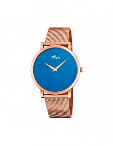 Reloj Lotus Acero Esfera Azul Armys...