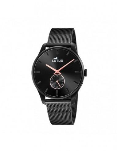 Reloj Lotus Acero Esfera Negro...