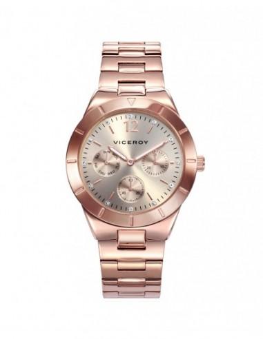 Reloj Viceroy Multifunción Acero Ip...