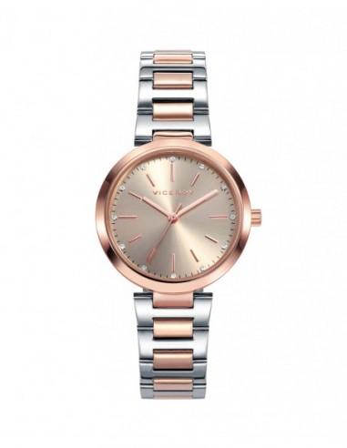 Reloj Viceroy Acero Ip Rosa Brazalete...