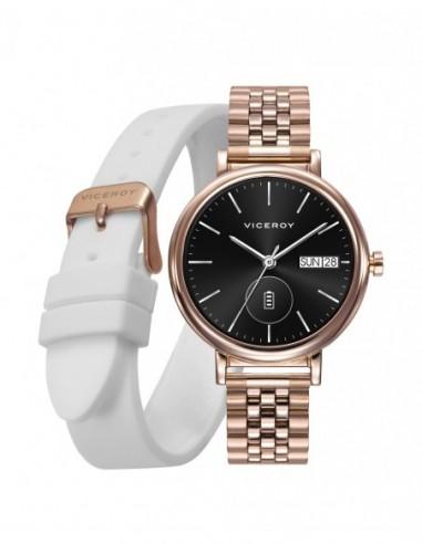 Pack Reloj Viceroy Smart Acero Ip...