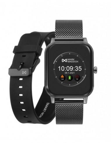 Pack Reloj Mark Maddox Smart Ip Gris...