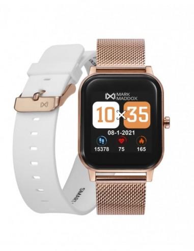 Pack Reloj Mark Maddox Smart Ip Rosa...