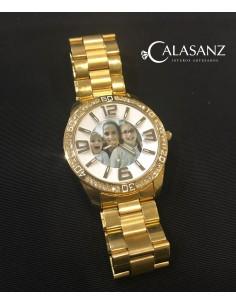 Reloj Micro Chapado con Foto