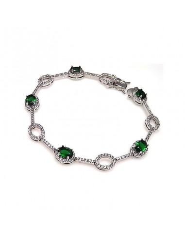 Bracelet En Argent Saphirs