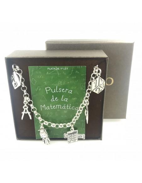 Pulsera Plata De La Matemática
