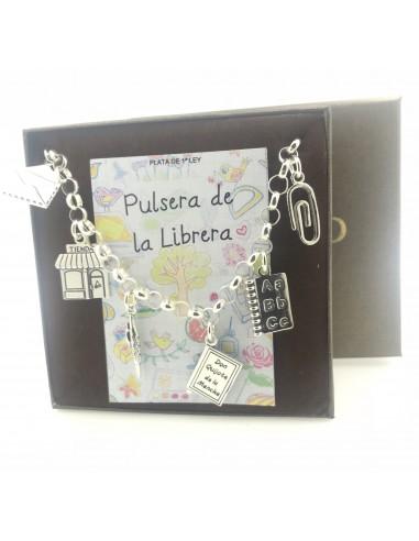 Pulsera Plata De La Librera